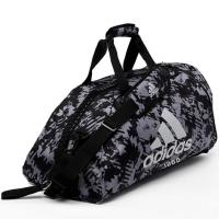 Сумка-рюкзак Adidas Training 2 in 1 Camo Bag Judo adiACC058J черно-камуфляжная