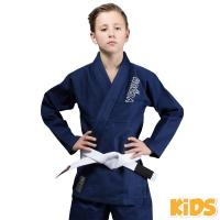 Кимоно (ги) для БЖЖ Venum Contender Kids Navy Blue с поясом