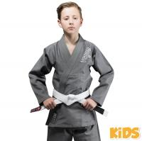 Кимоно (ги) для БЖЖ Venum Contender Kids Grey с поясом