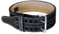 Пояс для пауэрлифтинга GRIZZLY Power Lifting two prong belts 8473-04 черный