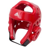 Шлем тхэквондо Adidas Head Guard Dip Foam WT adiTHG01 красный