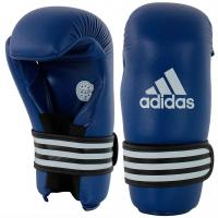 Перчатки полуконтакт Adidas WAKO Kickboxing Semi Contact Gloves adiWAKOG3 синие