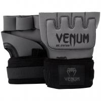 Бинты гелевые Venum Gel Kontact Grey/Black