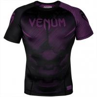 Рашгард Venum NoGi 2.0 Black/Purple S/S