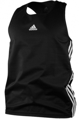 Майка боксерская Adidas Micro Diamond Boxing Top черная adiBTT01