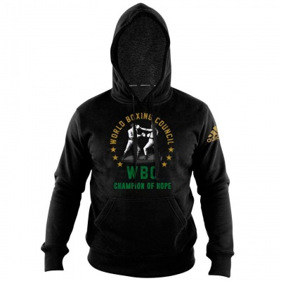 Толстовка (худи) Adidas Hoody Boxing WBC Champion Of Hope adiWBCH01 черная