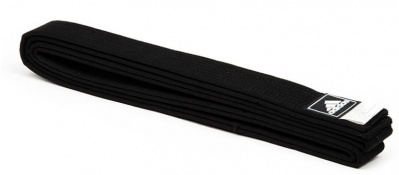Пояс для тхэквондо Adidas Regular Black Belt adiTBB01