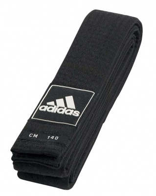 Пояс для тхэквондо Adidas Competition Black Belt adiTBB02